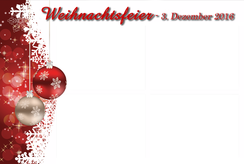 4er Weihnachtsfeier Schulenburg